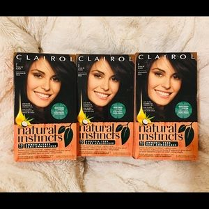 Clairol Natural Instincts Hair color (Three Packs)